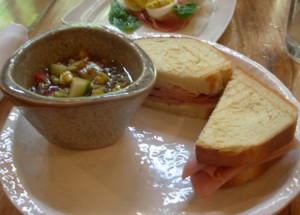 Bologna sandwich from brick & tin