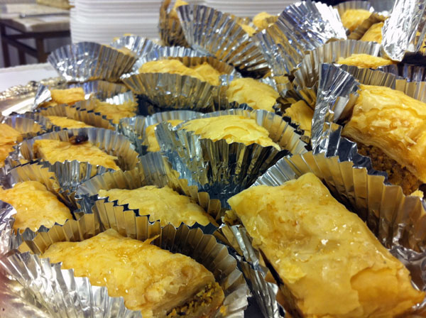 Baklava at Birmingham's Middle Eastern Food Festival